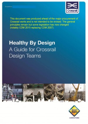 Cover of Healthy by Design document