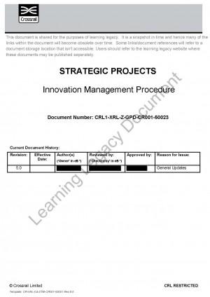 Innovation Management Procedure