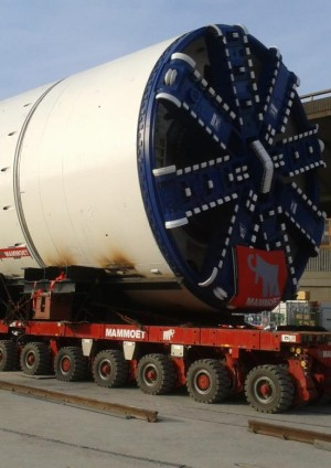 Transporting Tunnel Boring Machines