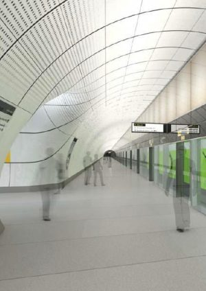 Crossrail Sprayed Concrete Linings
