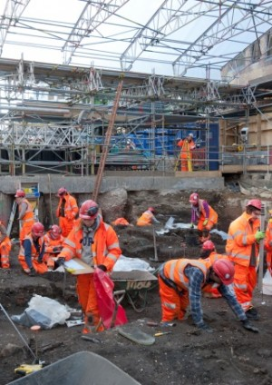 The Urban Archaeology of the Crossrail Project