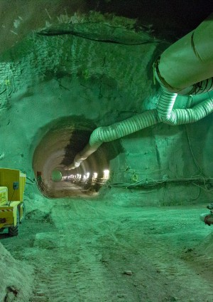 Design and Construction of Crossrail Stepney Green Sprayed Concrete Lined Caverns
