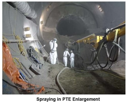 Figure 7. SCL enlargement of EB Platform Tunnel