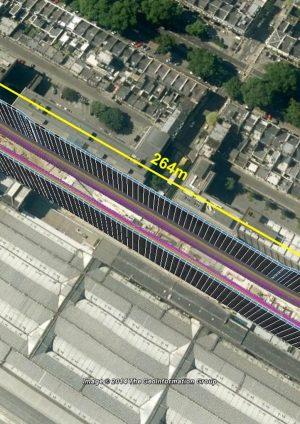 Figure 2. Paddington Station Box and Tunnel Layout
