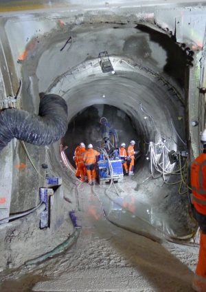Crossrail Tunnel Cross Passages – Construction methods and geology