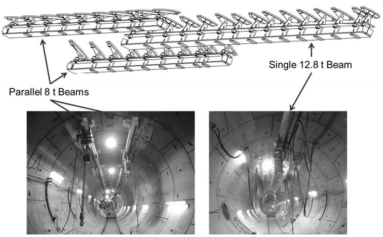 Figure 11. Sketch of overhead craneway system