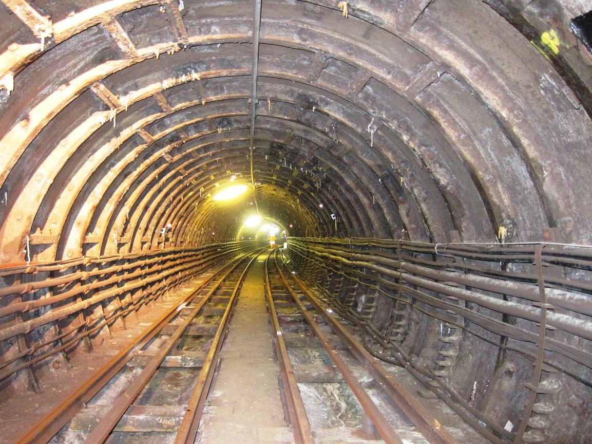 Figure 3. PO Tunnel at Liverpool St. Photo Credit: Alfred Stärk.