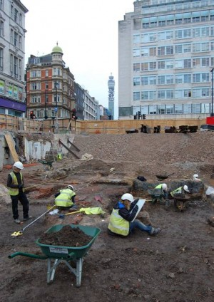 Archaeology archive – Tottenham Court Road Station