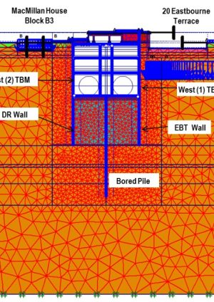 Design of the Deep Cut and Cover Crossrail Paddington Station Using Finite Element Method
