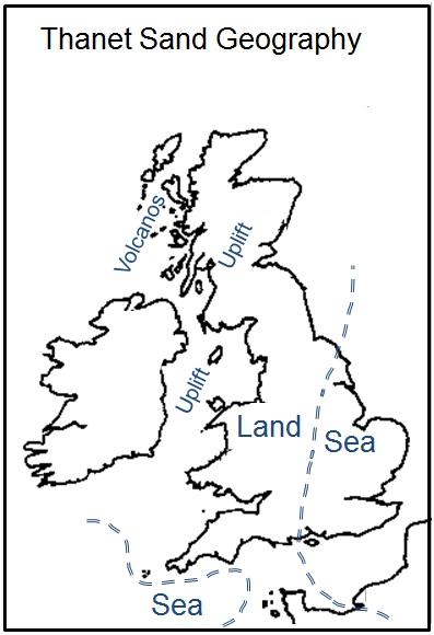 Figure 1 - Thanet Sand Paleogeography