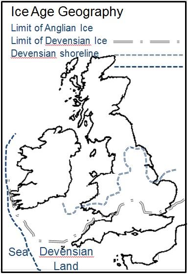 Figure 5 - Ice Age Paleogeography