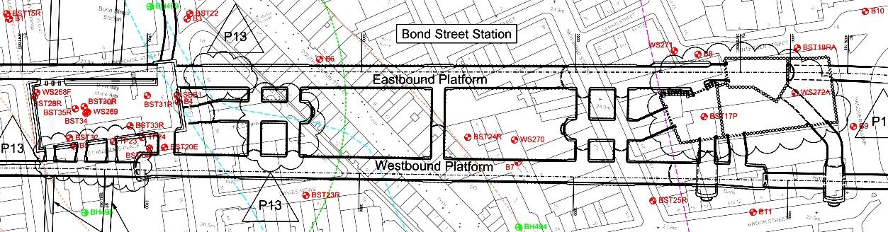 Figure 5 - Borehole Location Plan