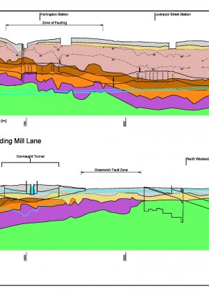 Crossrail Geological Long Section: Post-Construction Update