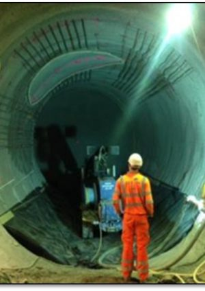 Design and construction of a hand mined Tunnel