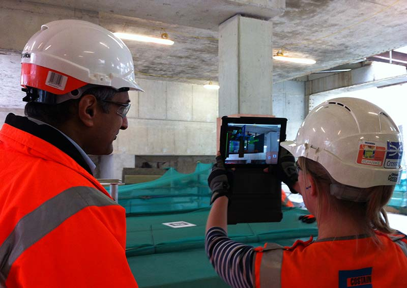 Will Augmented Reality in Construction Deliver on its Promise - Crossrail Learning Legacy