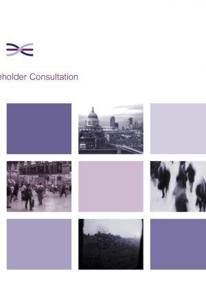 2002 Stakeholder Consultation Document and Corridor 6 update