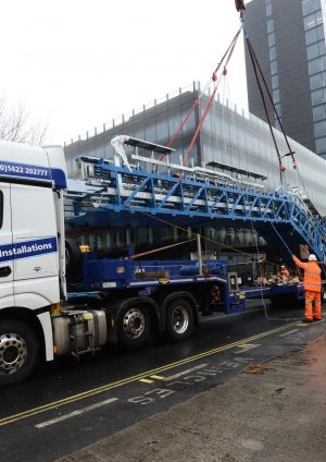 HGV Movement at Crossrail's Paddington Station