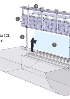 Engineering Design of the Platform Edge Screens for Crossrail's Mined Stations