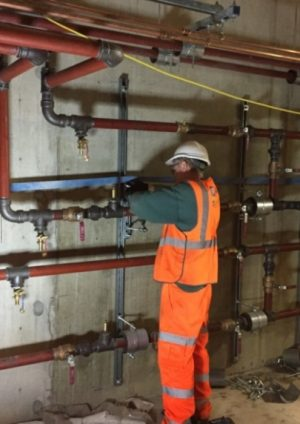Site installation practices for mechanical systems in Crossrail