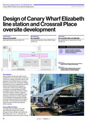 Civil Engineering - Crossrail Learning Legacy